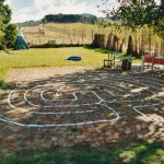 Garden labyrinth, Paarl, South Africa, 2001