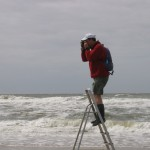 Taking pictures of my labyrinth, Noordwijk 2006