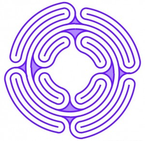 Four Winds labyrinth