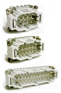 Three connectors