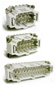 Three connectors